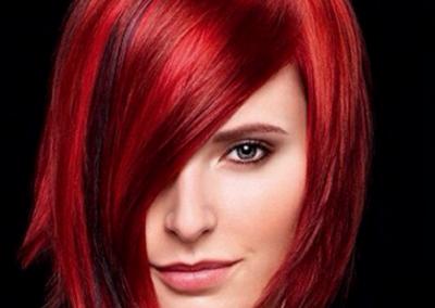 Frisuren für schulterlanges rötliches Haar
